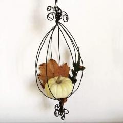 Boule autunno in filo di ferro ricotto