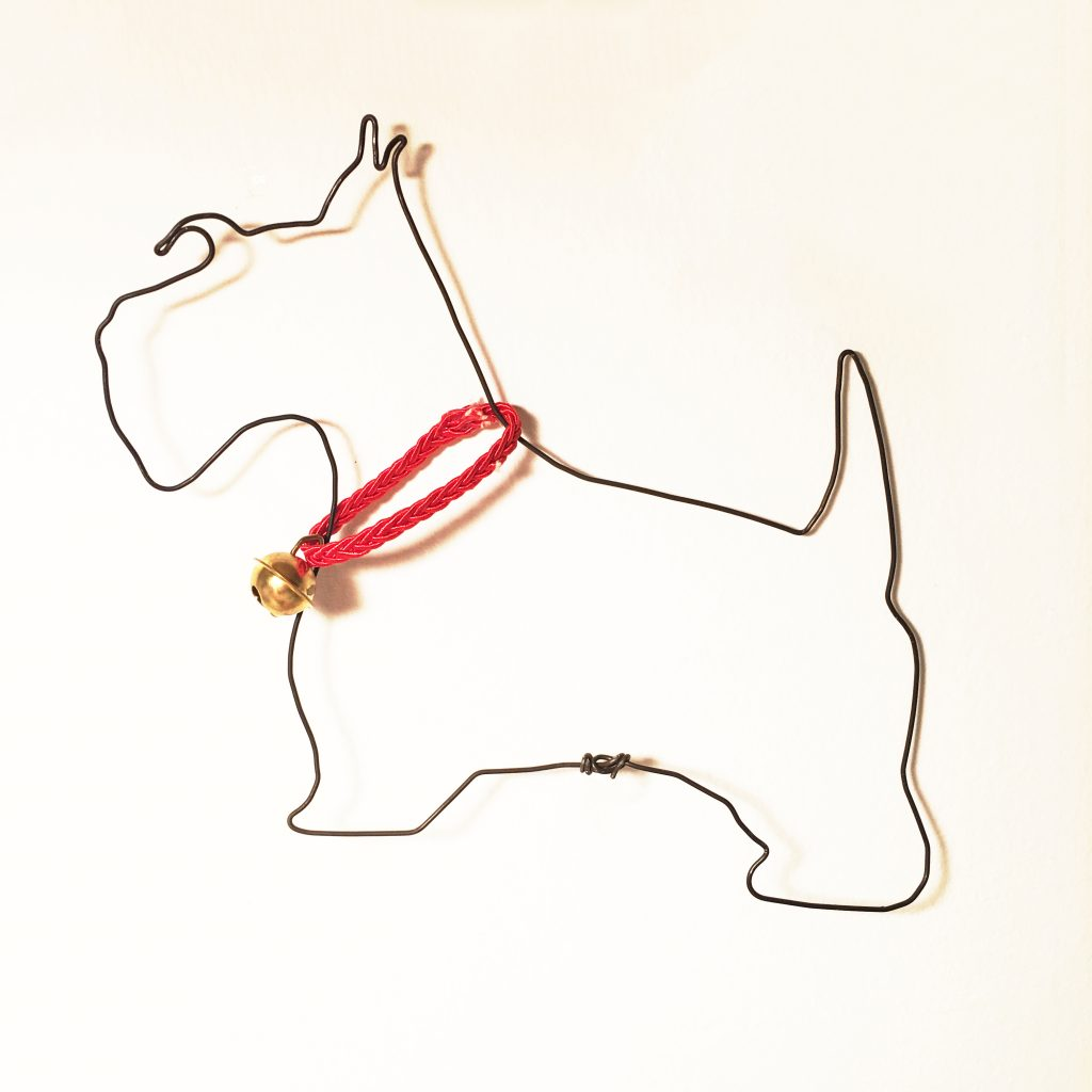 scottish terrier wire - fil de fer - wireartlover